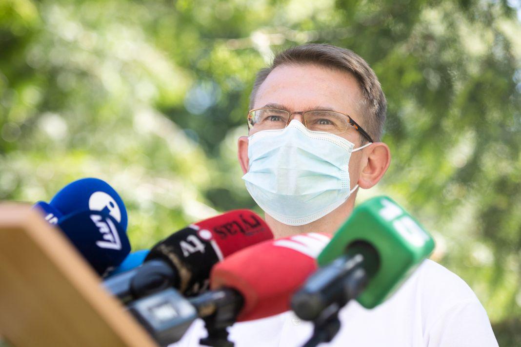 Lietuva, valdība, politika, Covid-19, veselība, priviliģētas, vakcinācija, saslimšanas gadījumu pieaugums