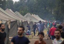 Lithuania, migration, Seimas, Ombudsman, migrant rights, tents, living conditions, court, UN